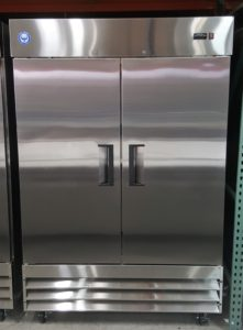2 Door Reach-In Commercial Freezer