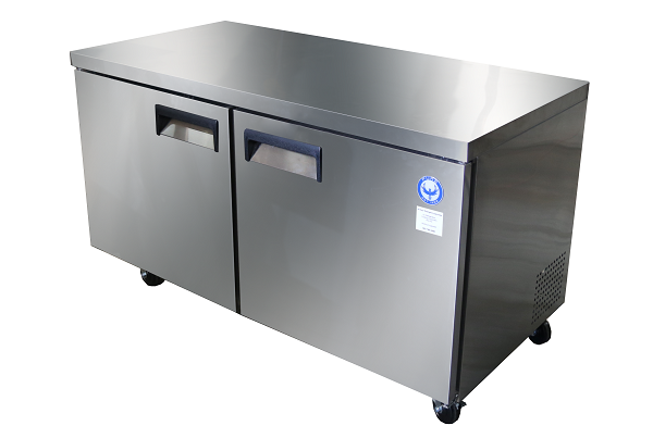 48 under counter commercial freezer