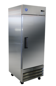 23 Cu Ft Solid Door Reach-In Freezer