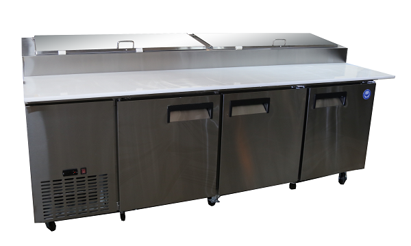 """92"""" Refrigerated Prep Table"""