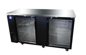 "69"" Glass Door Back Bar Cooler"