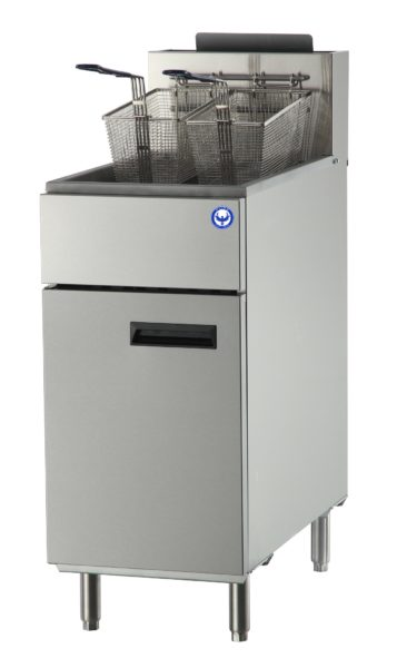 40 lb commercial deep fryer