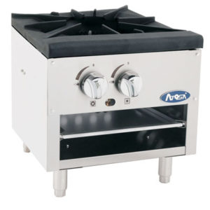 Single Burner Commercial Countertop Range